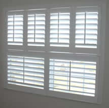 Double Hung Wood Shutters